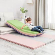 出口韩wn宝宝折叠爬hyPE婴儿家用宝宝游戏垫子加厚4cm
