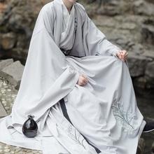 呦呦鹿wo 清风 原ng传统男女式三件套春秋清雅三米摆