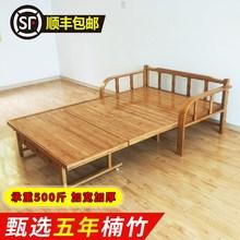 新品折wo床单的陪护ks床双的简易实木板成的两用沙发躺椅