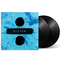 原装正wo 艾德希兰ld Sheeran Divide ÷ 2LP黑胶唱片留声机