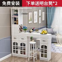 家用柜新wo省空间简易ld红酒架新居隔断柜创意加厚