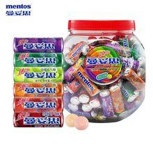 包邮曼妥思1kgwo5嚼充气糖ld糖果水果味薄荷包装零食软喜糖