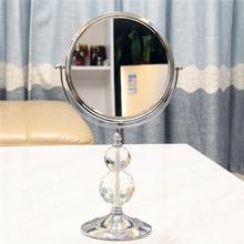 星丽水wo柱高端双面ld欧柜台式桌面美容放大女梳妆镜子化妆镜