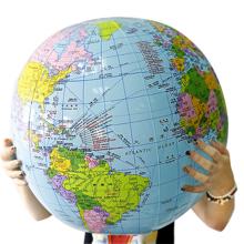 充气地wo54CM大ar学生地理宝宝玩具课堂教具划区包邮
