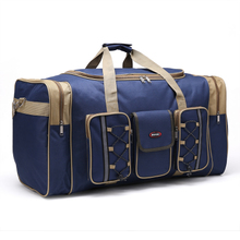 久巨可wo叠旅行袋旅es大容量男女大号手提26寸旅游箱包行李包