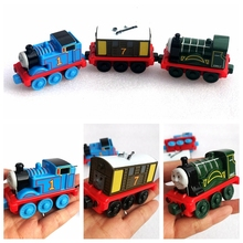 托马斯wo火车磁性合an套装玩具火车头回力仿真宝宝玩具车