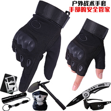 特种兵wo术漏半指手an运动健身登山骑行机车摩托装备全指手套