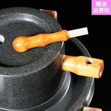 迷你石wp盘电动。青ll(小)石磨民间家用户外手工磨粉机手磨(小)型