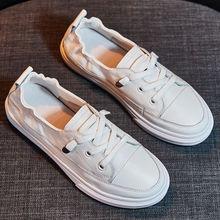 网红夏wu懒的(小)白鞋lk20百搭春式洋气板鞋新式透气潮鞋夏式单鞋