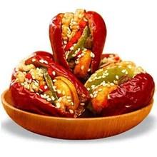 红枣夹wu桃1000yu锦枣夹核桃芝麻猕猴桃干葡萄干500g多规格