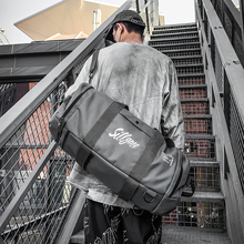 短途旅wu包男手提运de包多功能手提训练包出差轻便潮流行旅袋