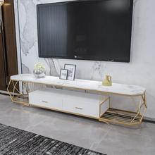 简约现ww大理石钢化af柜(小)户型客厅组合套装储藏柜整装