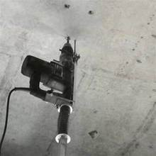 折叠打ww升降式支架cp钻升降杆冲击钻天花板打孔机吊顶