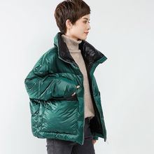 XM反ww棉服女20kt式韩款女装冬季宽松大码面包服短式棉袄棉衣外