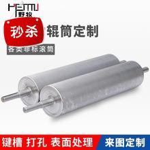 动力滚ww输送机传送qt动从动辊筒镀锌镀铬流水线不锈钢传动滚