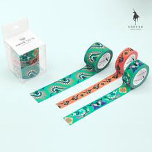 白马时wy文创 贵阳bk绣民族风胶带套装 珠光磨砂和纸胶带