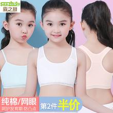 女童内wy(小)背心发育bk9纯棉10岁12(小)学生13内穿11-15宝宝文胸
