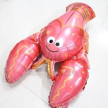 麻辣小龙虾铝膜气球海洋派