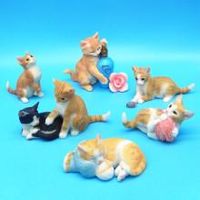 猫咪(小)x0件汽车装饰29卧室房间室内个性化女生礼品车内猫摆饰
