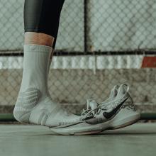 UZIx3精英篮球袜02长筒毛巾袜中筒实战运动袜子加厚毛巾底长袜