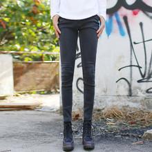 男士裤x5铅笔弹力紧5s韩款潮男生牛仔修身显瘦纯色 (小)脚长裤
