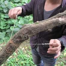 线据绳x9促销锯求生9w条锯装备手拉锯线锯野外户外单指