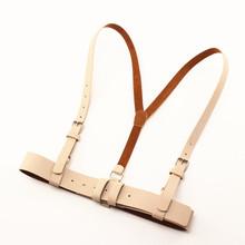 [xawn]夏季复古甜美背带式腰封女