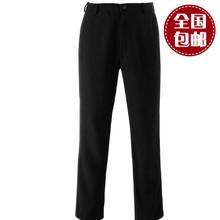 热血高xc源治同式铃ll源治裤子休闲裤长裤纯黑色男裤新品包邮