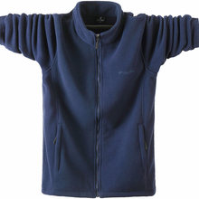 秋冬季xd士抓绒夹克sa衫休闲上衣肥佬宽松卫衣摇粒绒外套男装