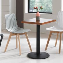椅恋(小)xf桌咖啡奶茶uy西餐厅桌椅(小)吃店快餐桌面馆(小)圆方桌子