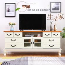 实木电xi柜欧式 现un十八斗储物柜中式电视柜特价