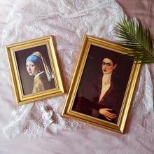 相框挂xi6寸7寸相ge台房间墙面装饰品ins 12寸画框含画