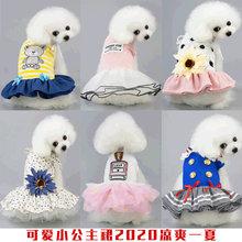 春装泰xm比熊贵宾(小)gl季公主连衣裙子宠物春夏薄式潮