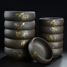 宜兴紫xn大号茶洗家bb茶杯洗水洗茶碗水盂(小)号笔洗