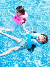 游泳圈xs的加厚充气qr下圈宝宝救生衣浮圈宝宝游泳装备初学者