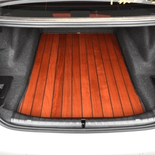 理想oxue木脚垫理kee六座专用汽车柚木实木地板改装专用全包围