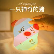 生日礼xu女孩送女友ai友朋友异地恋给实用的创意(小)惊喜硅胶灯