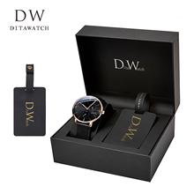 202xx新式dw男tw正品名牌瑞士十大品牌全自动机械表氚气潮男表