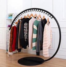 金星铁xy衣帽架落地rq架创意挂衣架室内简约时尚服装店展示架