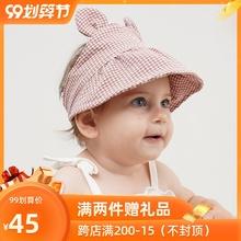 [xzaust]韩国进口婴儿帽子夏季薄款