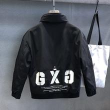 运动机y3潮牌工装羽3f短式帅气百搭潮流冬季外套男士加厚夹克