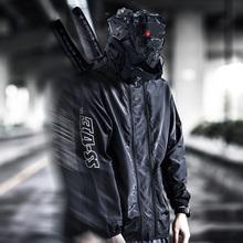 ENSyaADOWEo8者双拉链防晒防水防紫外线透气速干皮肤衣潮牌