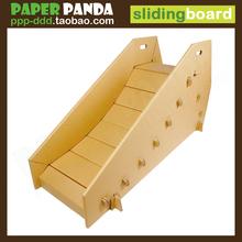 PAPERyaPANDAo8儿童滑滑梯(小)宝宝家庭室内游乐园大型环保纸玩具