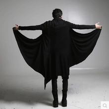 [yasmob]秋季暗黑系男装过膝长风衣