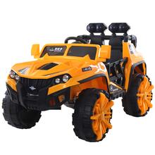 儿童电动车四轮带遥控yc7车2的可sf-8岁越野车玩具车超大号