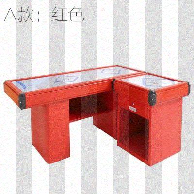 转角不yd钢吧台柜台qo铺便利店收式桌(小)型前台柜