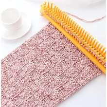 懒的新ye织围巾神器ud早织围巾机工具织机器家用