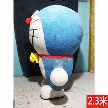 多拉Ayh卡通充气的cp当机器猫大型的穿行走玩偶衣服