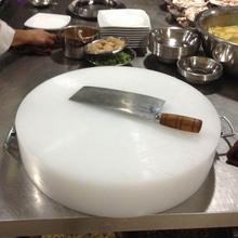 防霉圆yi塑料菜板砧i8剁骨头pe环保占板粘板胶砧板家用