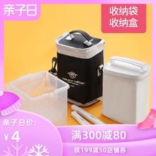 马克笔yi纳袋便携1ao收纳包大容量单肩包马克笔盒桌面底座格子40 60 80
